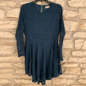 Blue alter'd State Dress Lace